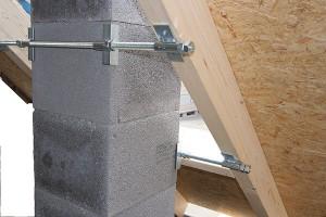Schornstein befestigung dach
